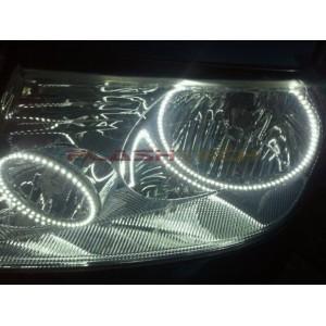 flashtech Lincoln Mark LT White LED HALO HEADLIGHT  KIT (2006-2008) Mark LT LI-MLT0608-WH