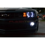 Chevrolet Camaro RS White LED HALO HEADLIGHT  KIT (2010-2013)