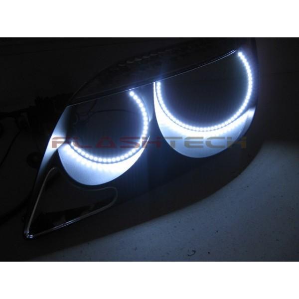 flashtech scion tc white led halo headlight kit (2005-2007) tc 05-