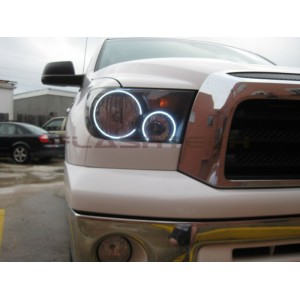 flashtech Toyota Sequoia White LED HEADLIGHT HALO KIT (2007-2013) Sequoia TO-SQ0713-WH