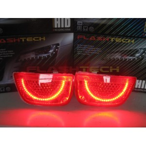 flashtech Chevrolet Camaro White LED HALO TAIL LIGHT KIT Afterburner (2010-2013) 10-13 Camaro CY-CANR1013-WHTL