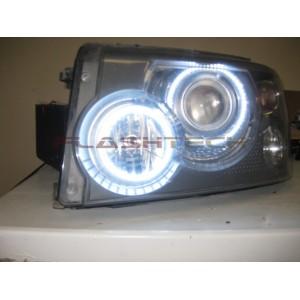 flashtech Range Rover HSE, Sport White LED HALO HEADLIGHT  KIT (2006-2009) Range Rover LR-RR0609-WH
