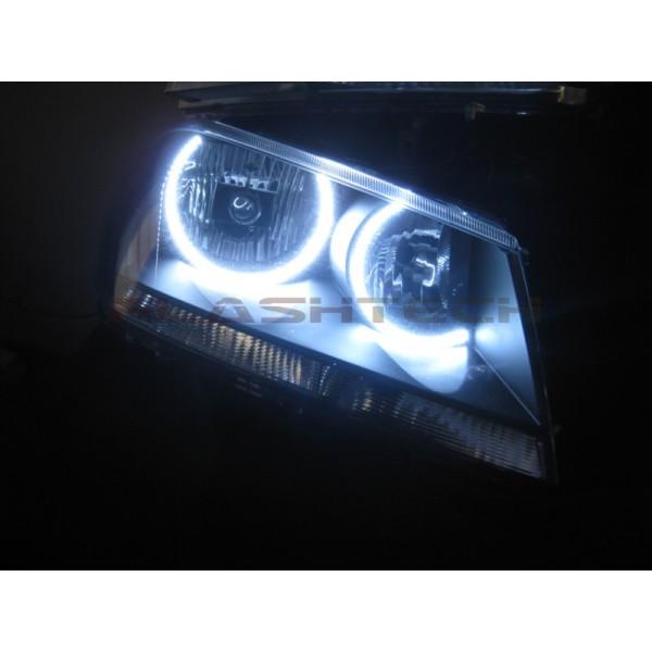 Dodge Avenger White LED HALO HEADLIGHT KIT (2008-2015)
