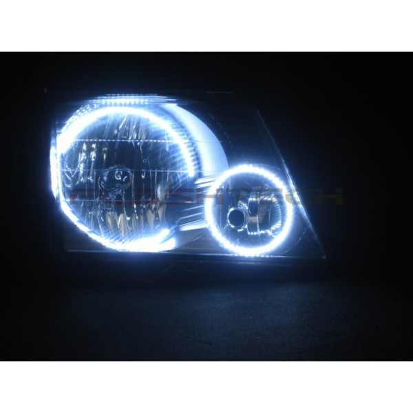 Flashtech Ford Explorer White Led Headlight Halo Kit 2002 2005 02 05