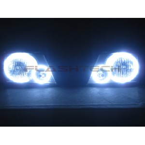 flashtech Ford Explorer White LED HEADLIGHT HALO KIT (2002-2005) 02-05 Explorer FO-EX0205-WH