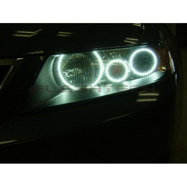 Acura Tsx White Led Halo Headlight Kit 2004 2008