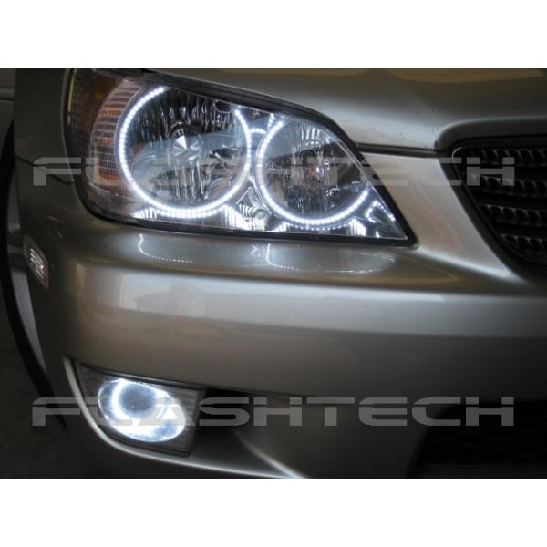 Lexus is300 White LED HEADLIGHT HALO KIT 20012005 – Lexus Is300 Fog Light Wiring Diagram