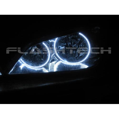 Lexus is300 White LED HEADLIGHT HALO KIT 2001 2005