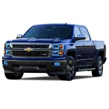 Chevrolet Silverado V.3  Fusion Color Change NON Projector halo headlight and fog light kit (2014- 2015)
