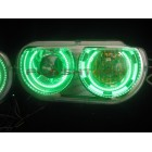 Dodge Challenger Projector V.3 Fusion Color Change LED HALO HEADLIGHT KIT (08-14)
