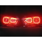 Dodge Charger V.3 Fusion Color Change LED Halo Headlight Kit (2011-2014)