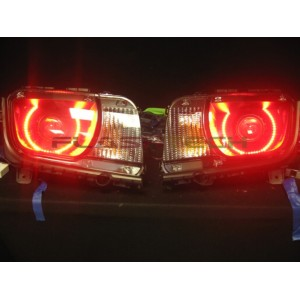flashtech Chevrolet Camaro RS V.3 Fusion Color Change halo headlight kit (2010-2013) 10-13 Camaro CY-CARS1013-V3H
