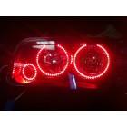 Dodge Charger V.3 Fusion Color Change LED Halo Headlight Kit (2005-2010)