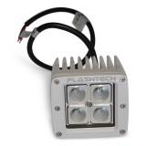 Flashtech LED Fog Light: 4 LED Standard Mount White