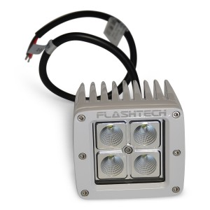 flashtech Flashtech LED Fog Light: 4 LED Standard Mount White Light Bar FTLB1212-W