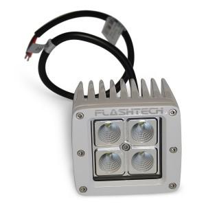flashtech Flashtech LED Fog Light: 4 LED Standard Mount White Light Bar FTLB1212-W