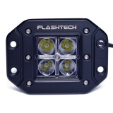 Flashtech LED Fog Light: 4 led Flush mount