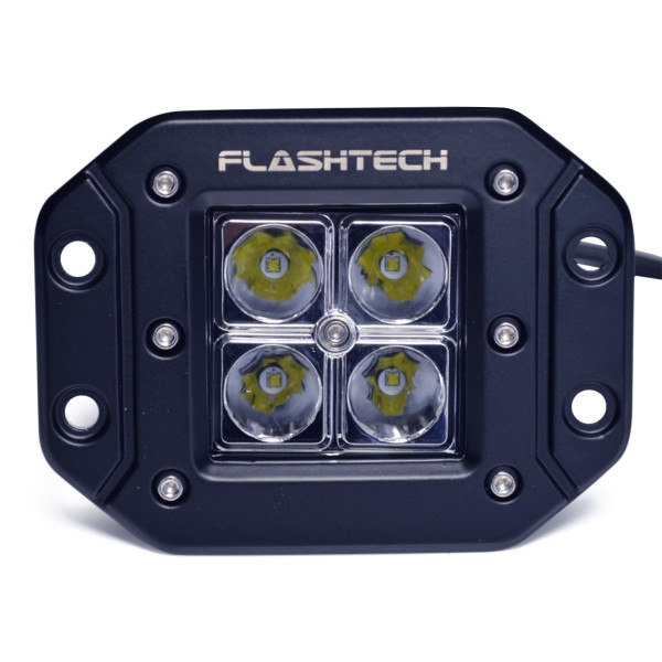 Flashtech Led Fog Light 4 Led Flush Mount