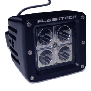 flashtech Flashtech LED Fog Light: 4 led standard mount Standard Mount FTLB1212-B