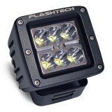 Flashtech LED Fog Light: 6 led standard mount