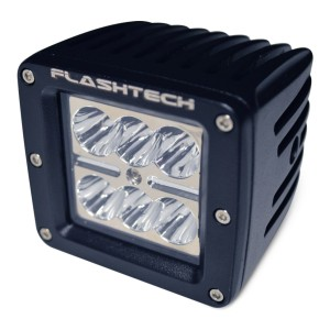 flashtech Flashtech LED Fog Light: 6 led standard mount Standard Mount FTLB1218-B