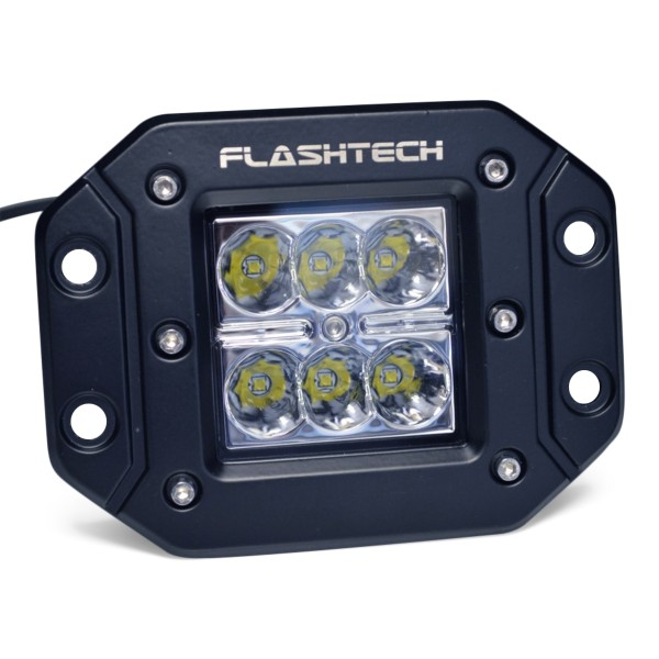 Flashtech Led Fog Light 6 Led Flush Mount