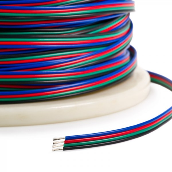 Flashtech Fusion RGB Bulk wire: 325 feet