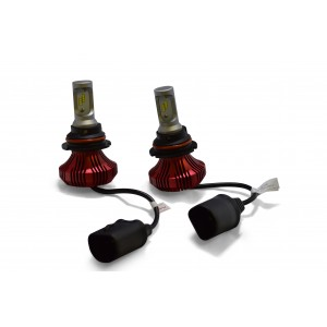 F4 LED Headlight Bulbs: 9007 Bulb Size  FTF4-H9007.6