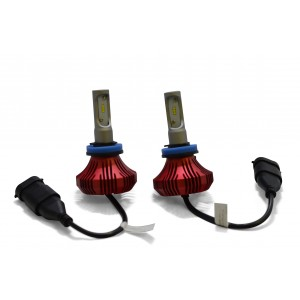 F4 LED Headlight Bulbs: H11 Bulb Size  FTF4-H11.6