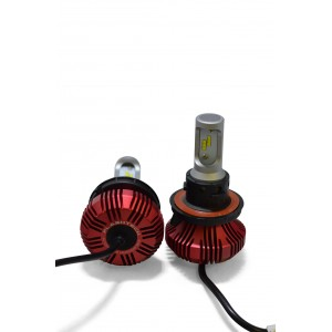 F4 LED Headlight Bulbs: H13 Bulb Size  FTF4-H13.6