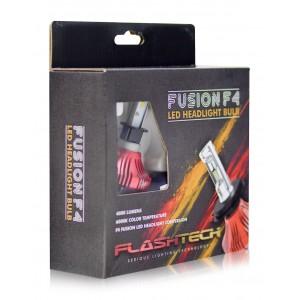 F4 LED Headlight Bulbs: H3 Bulb Size  FTF4-H3.6