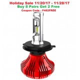 F4 LED Headlight Bulbs: H4 Bulb Size