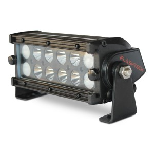 flashtech Flashtech BLACK LED Light Bar -  Dual Row 7 inch Dual Row FT-B2367