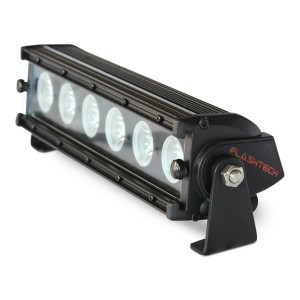 flashtech Flashtech BLACK LED Light Bar - Single Row 11 inch Single row FT-B16011