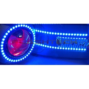 flashtech Flashtech Flex -  V.3 Fusion Color Change 16 inch LED strip Pre Made Kits FTFS50-16MC