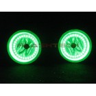 Dodge Durango V.3 Fusion Color Change LED Halo Fog Light Kit (2011 - 2013)