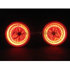 Dodge Caravan V.3 Fusion Color Change LED Halo Fog Light Kit (2005-2009)