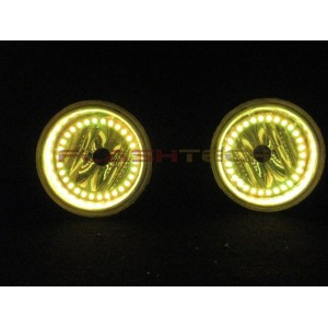flashtech Hummer H3 V.3 Fusion Color Change  LED HALO FOG LIGHT KIT (2005-2010) Hummer HU-H30510-V3F