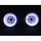 Hummer H3 White LED HALO FOG LIGHT KIT (2005 - 2010)