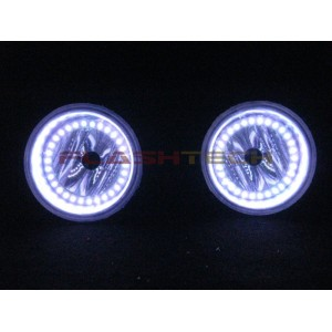 Chrysler Town & Country White LED HALO FOG LIGHT KIT (2005-2010) Foglights CH-TC0510-WF