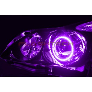 flashtech Flashtech V.3 Color Change Halo Headlight Kit for Infiniti G37 Coupe 2008-2013 G37 Coupe IN-G370813-V3H