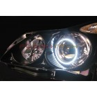 FLASHTECH White LED HEADLIGHT HALO KIT for Infiniti G37 coupe (2008-2013)