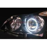 FLASHTECH White LED HEADLIGHT HALO KIT for Infiniti G37 coupe (2008-2013)