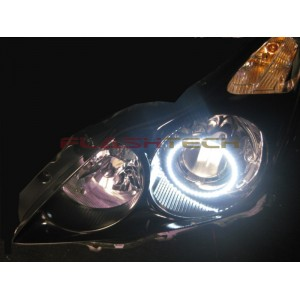 flashtech FLASHTECH White LED HEADLIGHT HALO KIT for Infiniti G37 coupe (2008-2013) G37 Coupe IN-G370813-WH