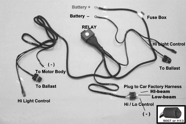 Flashtech bixenon hid harness