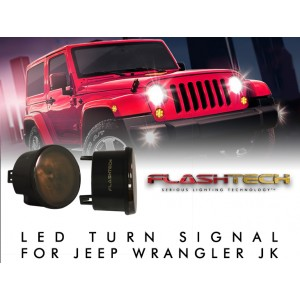 Jeep Wrangler JK LED Turn Signal Assembly