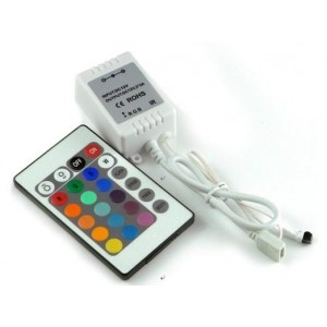 flashtech Flashtech 24 key IR Wireless RGB control Module Color Changing FTLED-IR-4