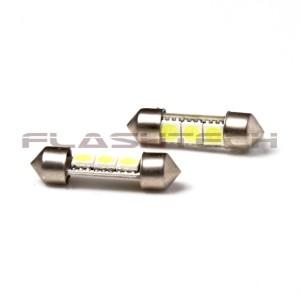 flashtech Flashtech 29mm 3 SMD Led bulb 29mm FT29-3W