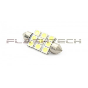 flashtech Flashtech 37mm 9 SMD Led Bulb - Blue 37mm FT37-9B