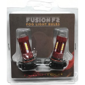F2 Fusion 18W High Power LED fog light bulbs: 5202 bulb size ftf2-5202